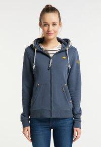 Schmuddelwedda - Zip-up hoodie - rauch marine - 0