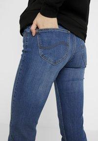 Lee - MARION STRAIGHT - Jeansy Straight Leg - stone blue denim - 5