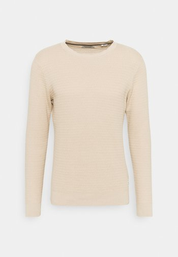 JJMARLOW STRUCTURE - Maglione - oatmeal