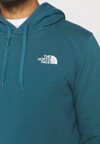 The North Face - SEASONAL DREW PEAK - Sweat à capuche - mallard blue - 6