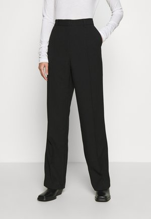 ALICIA - Trousers - black