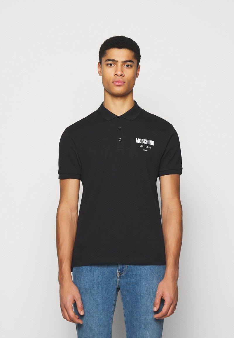 MOSCHINO - UPPER BODY GARMENT - Polo shirt -  black