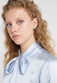 Tory Burch - KIRA PAVE STUD EARRING - Earrings -  silver-coloured - 1