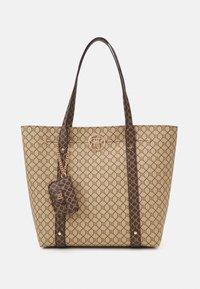 SET - Shopping bag - brown