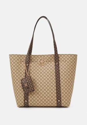 SET - Shopping bag - brown