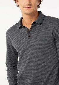 Pierre Cardin - GESTREIFT - Polo shirt - schwarz - 3