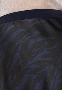 Soaked in Luxury - SLEDESSA SKIRT - A-line skirt - shadow/dark blue - 4