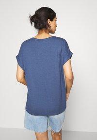 ONLY - ONLMOSTER ONECK - T-shirts - vintage indigo - 2