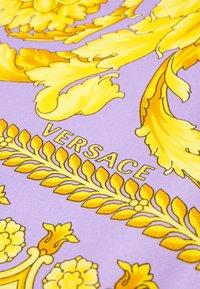 Versace - FOULARD CARRE - Foulard - lilla/oro - 4