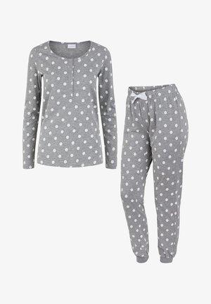 GEPUNKTETER - Pyjama set - light grey melange