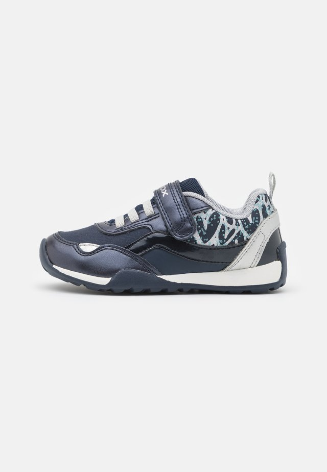 JOCKER PLUS GIRL - Sneakers laag - navy/silver