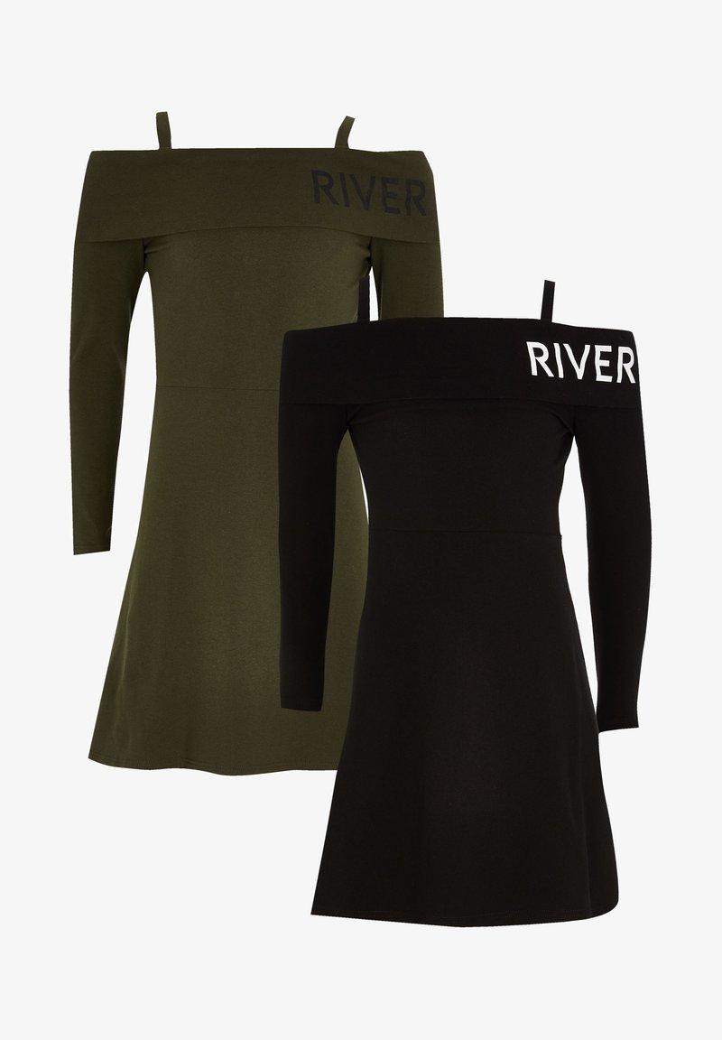River Island - Korte jurk - black