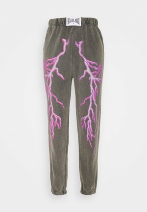 FLASH JOGGERS - Tracksuit bottoms - grey