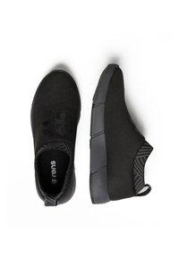 Rens Original - WATERPROOF COFFEE SNEAKERS - Sneakers laag -  black - 2