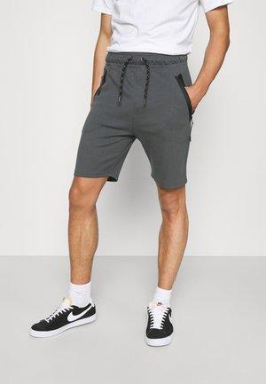 BRAGA - Teplákové kalhoty - mid grey