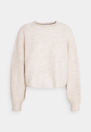 ROLL CROP PINK - Strickpullover - neutral