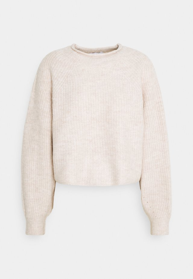 ROLL CROP PINK - Jumper - neutral