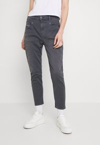 Diesel - FAYZA - Relaxed fit jeans - grey blue - 0