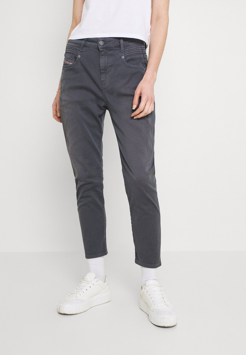 Diesel - FAYZA - Relaxed fit jeans - grey blue
