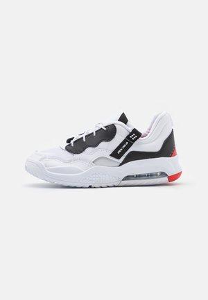 MA2 UNISEX - Chaussures de basket - white/black/university red/light smoke grey/praline
