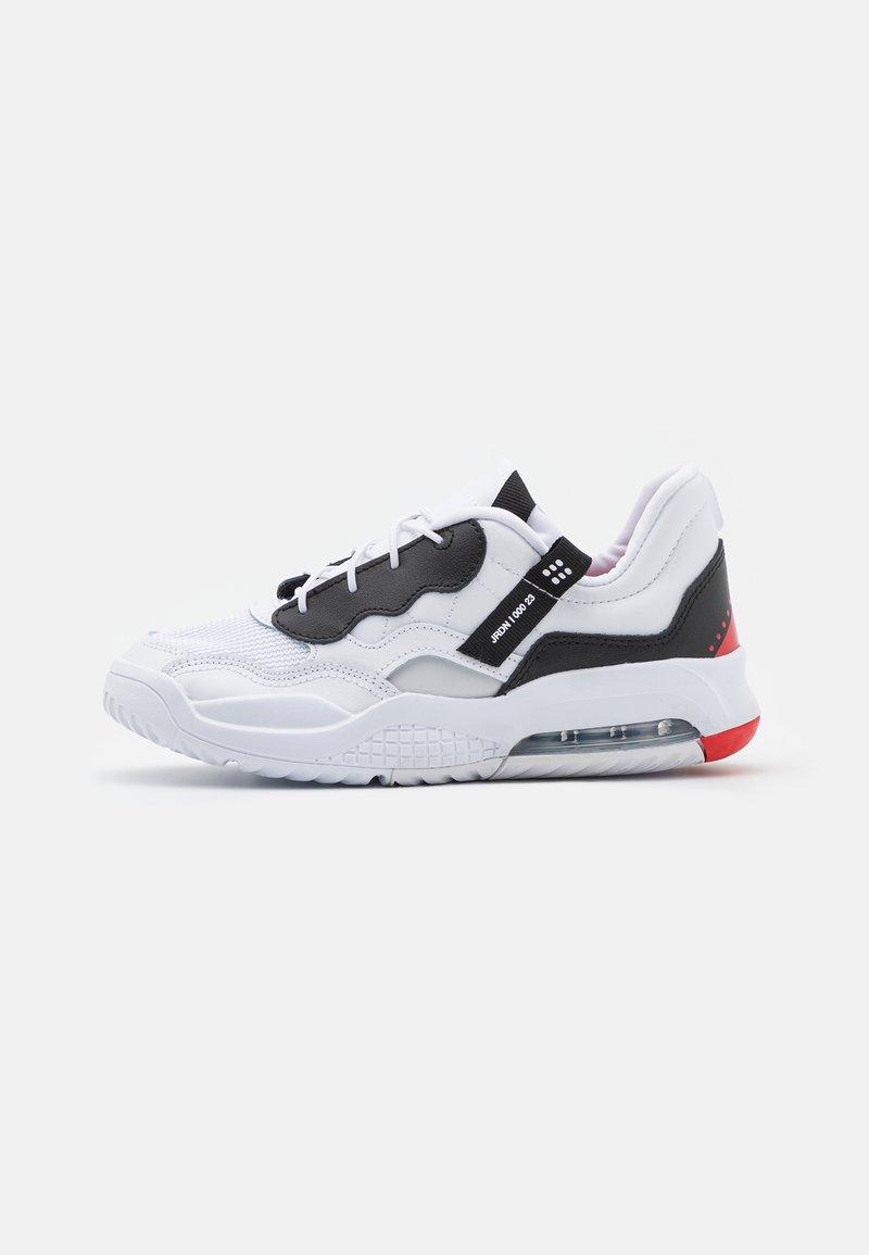Jordan - MA2 UNISEX - Basketball shoes - white/black/university red/light smoke grey/praline