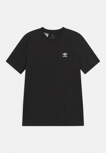 TEE UNISEX - Basic T-shirt - black/white