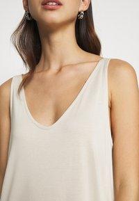 Weekday - ABBY DRESS - Maxi dress - light beige - 8