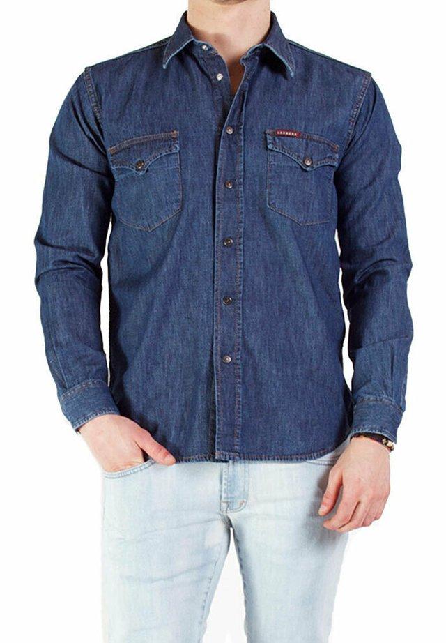 Camicia - lavaggio blu medio (stone wash)