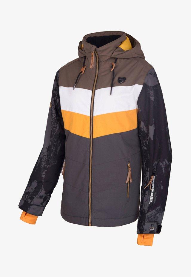HESTER - Snowboard jacket - dark brown