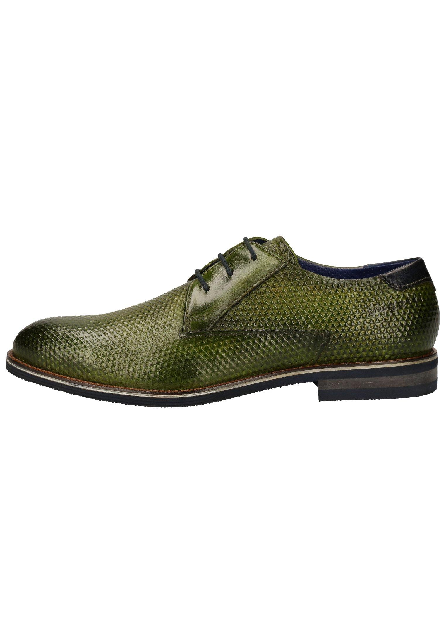 Homme Derbies & Richelieus - green