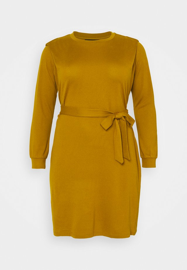 VMFRYA ABOVE KNEE DRESS - Jumper dress - dried tobacco