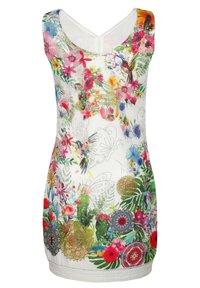 Alba Moda - Jersey dress - weiß,rot,grün,blau - 7
