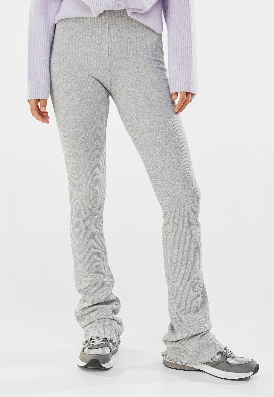 Femme MIT PATENTMUSTER  - Pantalon classique