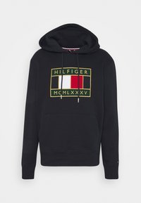 Tommy Hilfiger - ICON BADGE HOODY - Sweat à capuche - blue - 4