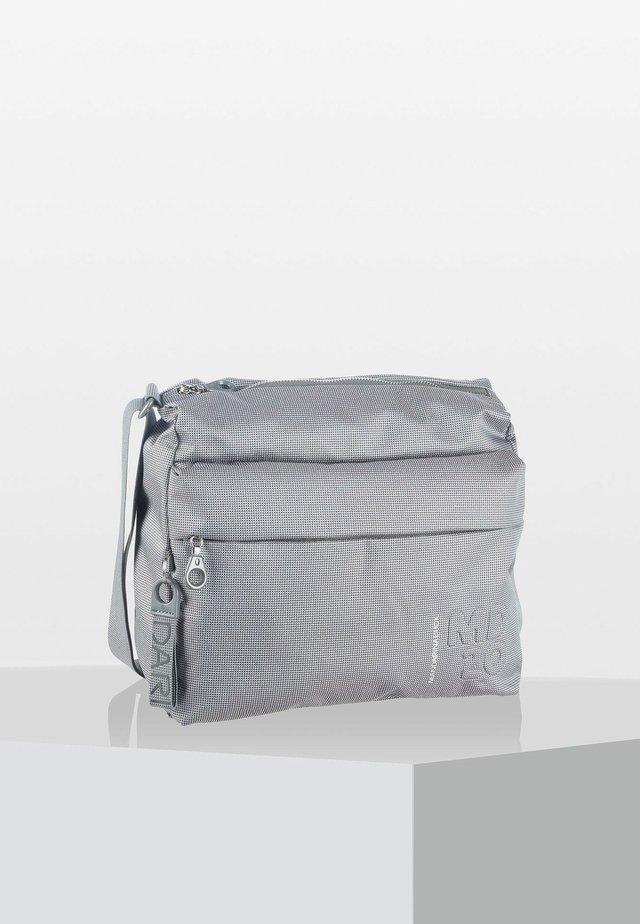 LUX - Across body bag - gun metal