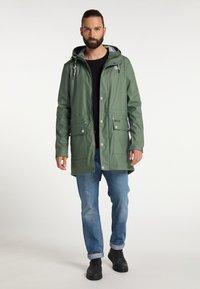 Schmuddelwedda - Waterproof jacket - oliv - 1