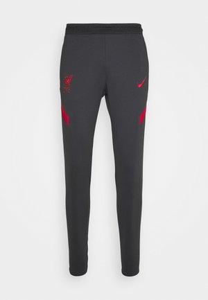 LIVERPOOL FC DRY PANT - Club wear - anthracite/gym red/gym red