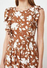 Trendyol - Maxi dress - brown - 3
