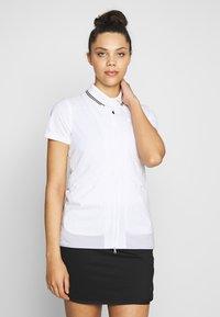 Nike Golf - REPEL ACE JACKET FULL ZIP 2-IN-1 - Sportovní bunda - white/black - 4