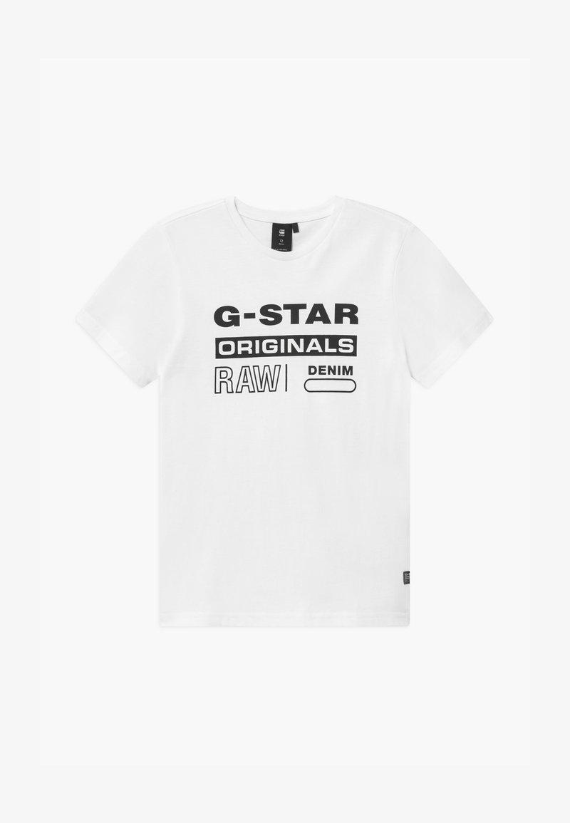 G-Star - TEE - Print T-shirt - white