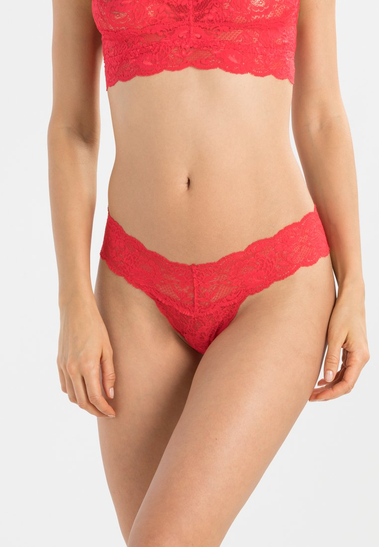 Cosabella - NEVER SAY NEVER CUTIE THONG - G-strenge - rossetto