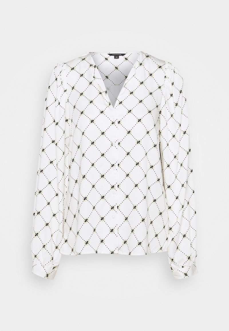 comma - LANGARM - Blouse - white