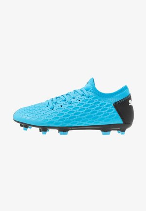 FUTURE 5.4 FG/AG - Moulded stud football boots - luminous blue/nrgy blue/black/pink alert