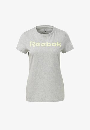 ESSENTIALS TRAINING SHORT SLEEVE GRAPHIC - T-Shirt print - grey