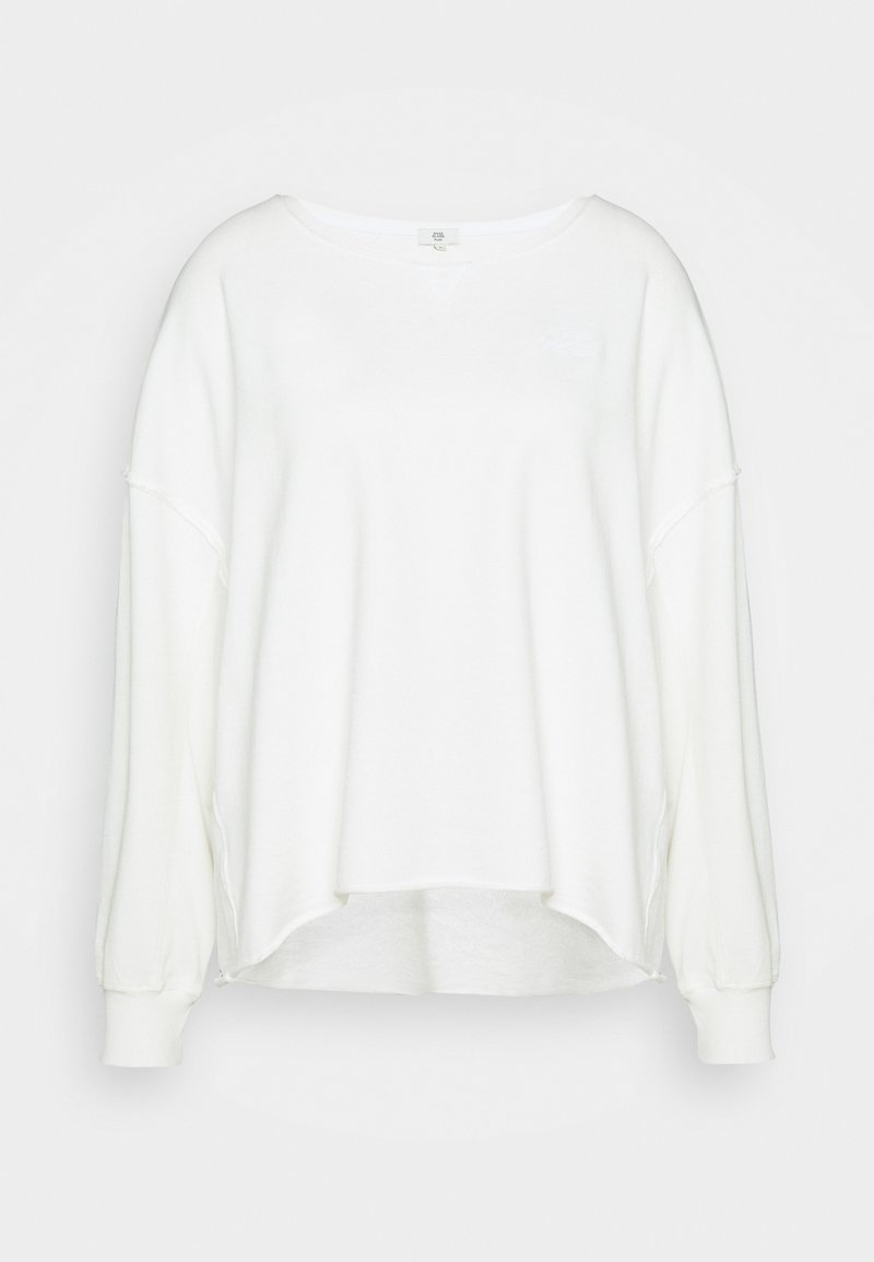 River Island Plus - Sweatshirt - cream