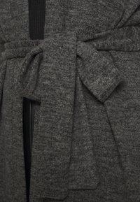 Pieces - PCPAM - Cardigan - dark grey melange - 4