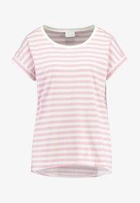 Vila - VIDREAMERS PURE  - Print T-shirt - begonia pink/snow white - 4