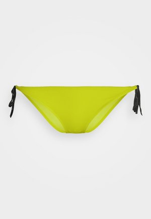 CORE LOGO TIES CHEEKY STRING SIDE TIE - Bikini bottoms - acid lime