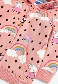 Next - PEPPA PIG  - Zip-up sweatshirt - pink - 2