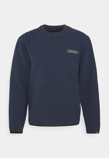 Fleece jumper - blue nights